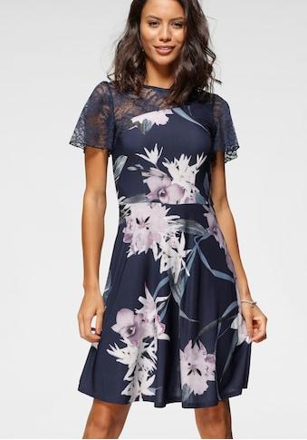 Melrose Jerseykleid, mit asymmetrischer Spitze kaufen