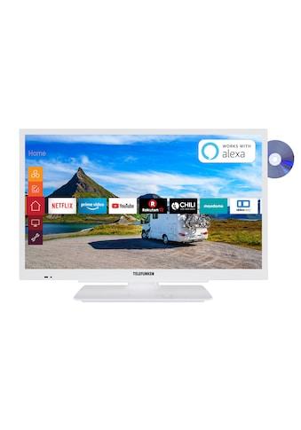 Telefunken LED - Fernseher (22 Zoll, Full HD, Smart TV, DVD, 12V) »XF22G501VD - W« kaufen