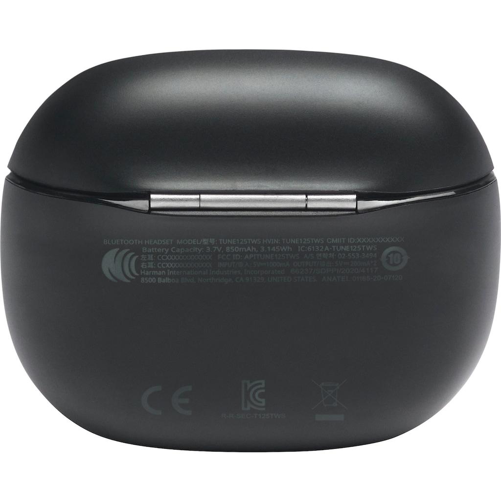 JBL wireless In-Ear-Kopfhörer »Tune 125 TWS«, Bluetooth