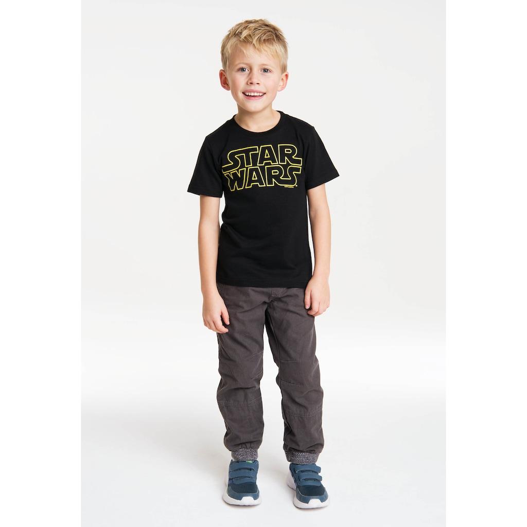 LOGOSHIRT T-Shirt »Star Wars«, mit lizenziertem Originaldesign