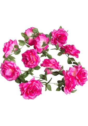 Botanic-Haus Kunstblume »Rosengirlande« kaufen