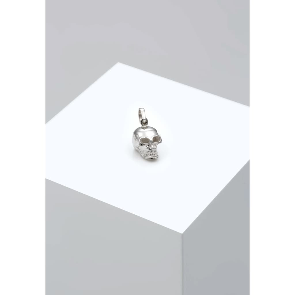 Kuzzoi Kettenanhänger »Herren Totenkopf Kettenanhänger Gothic 925 Silber«