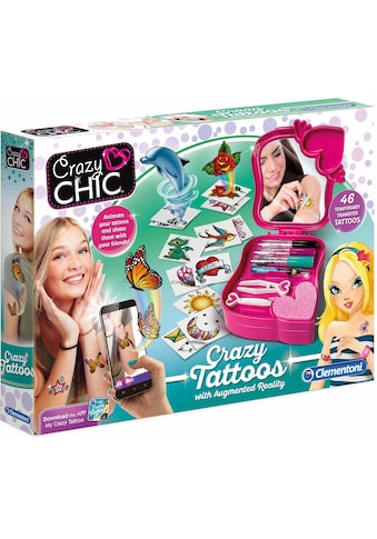 "Clementoni® Kreativset ""Crazy Chic Crazy Tattoos mit augmented reality App"" (Set) kaufen"