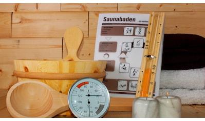 KARIBU Sauna - Wellness - Set »Classic«, 6 - tlg. kaufen