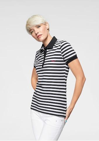 LTB Poloshirt »ZADOTI«, mit Streifen & kontrastfarbener Logostickerei kaufen