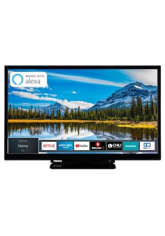 Toshiba LED - Fernseher (24 Zoll, HD - Ready, Triple - Tuner, Smart TV) »24W2963DAX« kaufen