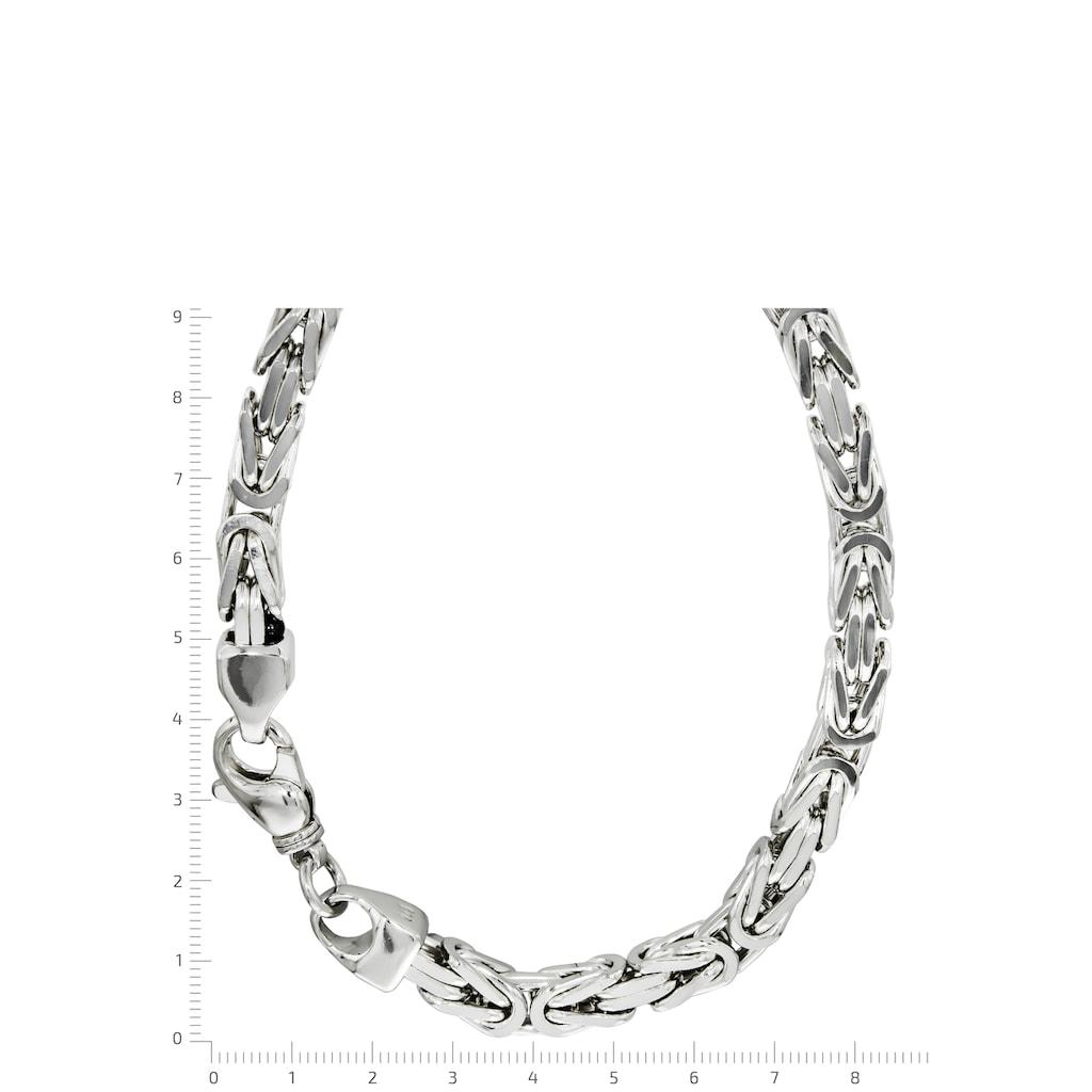 Firetti Königskette »Königskettengliederung 4-kant, 8,0 mm breit«, Made in Germany