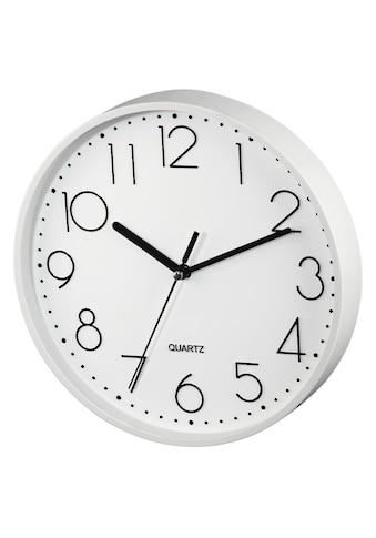 """Hama Wanduhr """"PG - 220"""", geräuscharm, Weiß »Uhr« kaufen"""