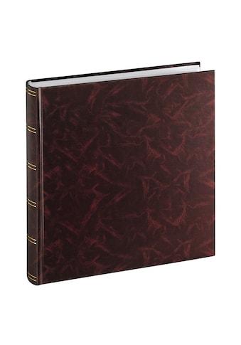Hama Super - Jumbo - Album Birmingham, 33x35 cm, 100 weiße Seiten »Foto Album Burgund« kaufen