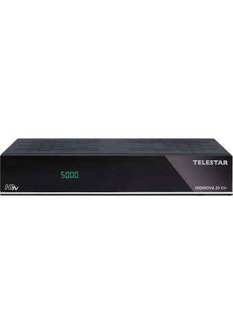 TELESTAR Satellitenreceiver »Diginova 23 CI+«, ( USB PVR Ready-Time-Shift-USB-Cloning-Call-Monitor-Videotext-Videotextuntertitel) kaufen