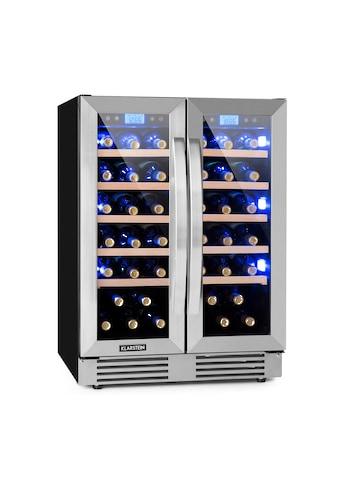 Klarstein Zweizonen - Weinkühlschrank 126 Liter 42 Flaschen »Vinovilla Duo42« kaufen