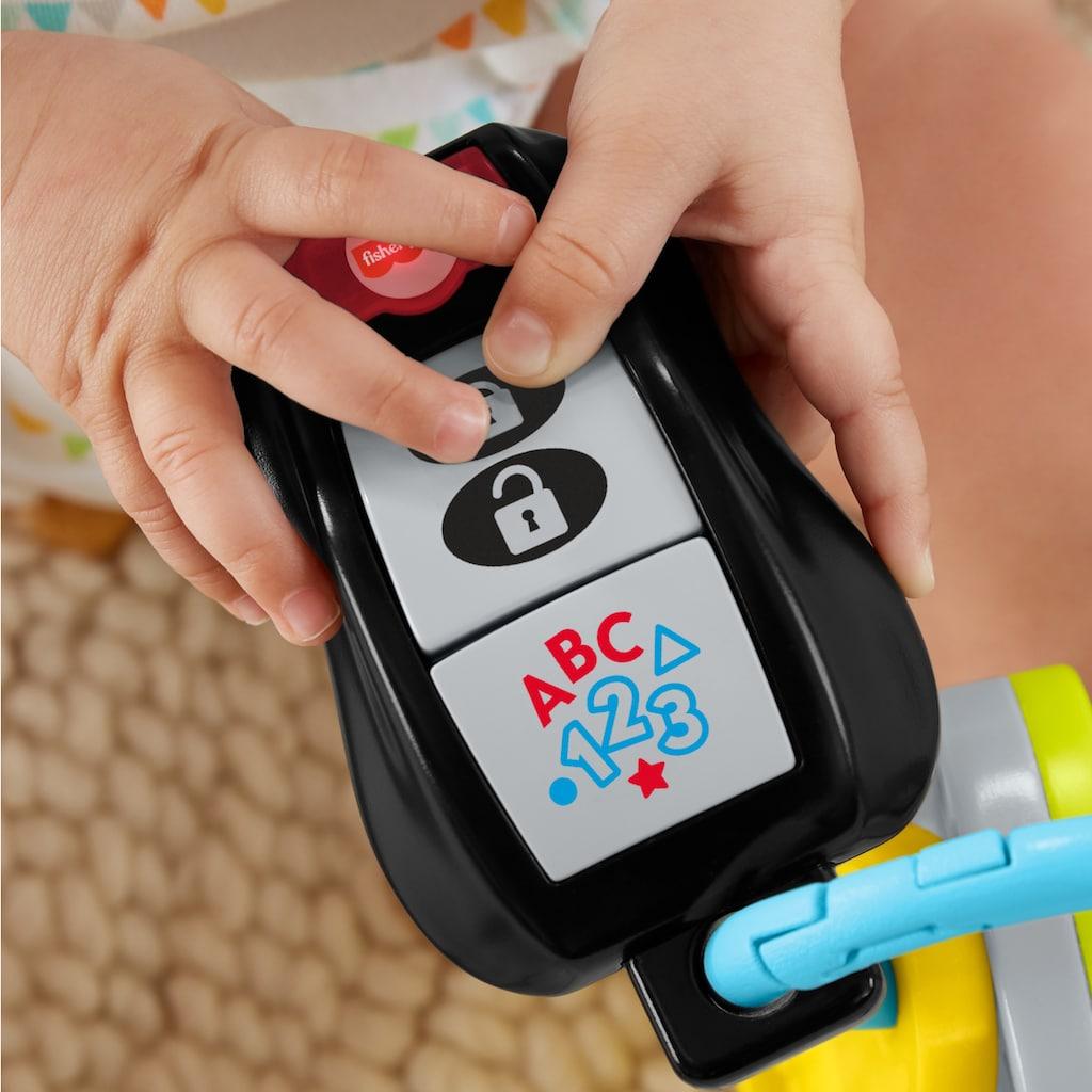 Fisher-Price® Lernspielzeug »Lernspaß Schlüsselbund«, mit Licht- und Soundfunktion