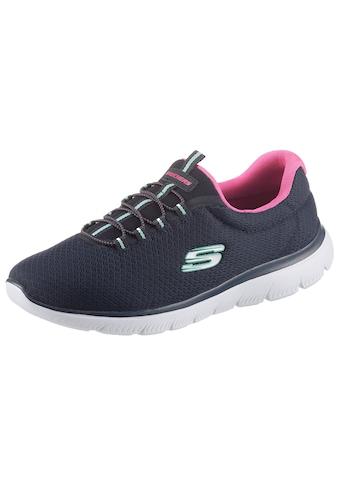 Skechers Slip-On Sneaker »SUMMITS«, in Schuhweite G (weit) kaufen