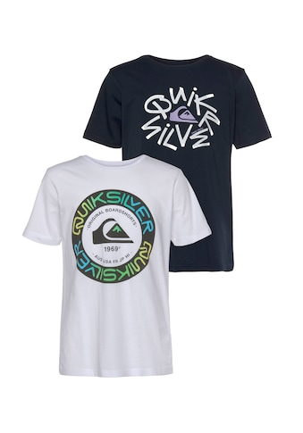 Quiksilver T-Shirt »FUTURE TIME SS TEE PACK YOUTH« kaufen