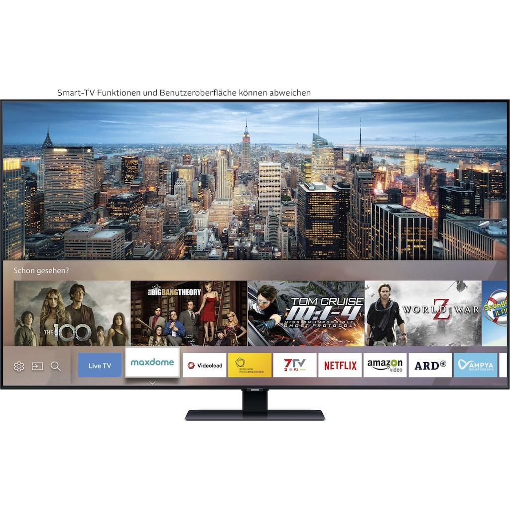 "Samsung QLED-Fernseher »GQ85Q80TGT«, 214 cm/85 "", 4K Ultra HD, Smart-TV"