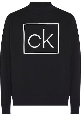 Calvin Klein Sweatshirt »CK BOX MOCK-NECK SWEATSHIRT« kaufen