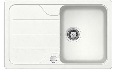 SCHOCK Granitspüle »Formhaus Mini«, ohne Restebecken, 78 x 50 cm kaufen