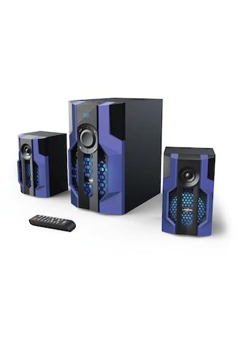 uRage Gaming Soundsystem 2.1 mit Subwoofer, für PC, Konsole, TV »Bluetooth - Lautsprecher, USB« kaufen