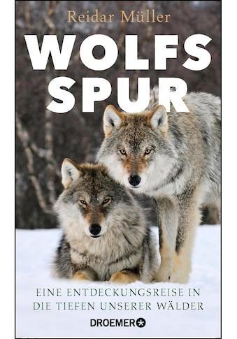 Buch »Wolfsspur / Reidar Müller, Ulrike Strerath-Bolz« kaufen