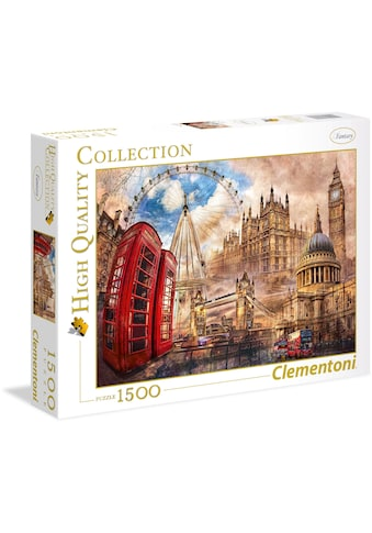 Clementoni® Puzzle »High Quality Collection - Altes London«, Made in Europe kaufen
