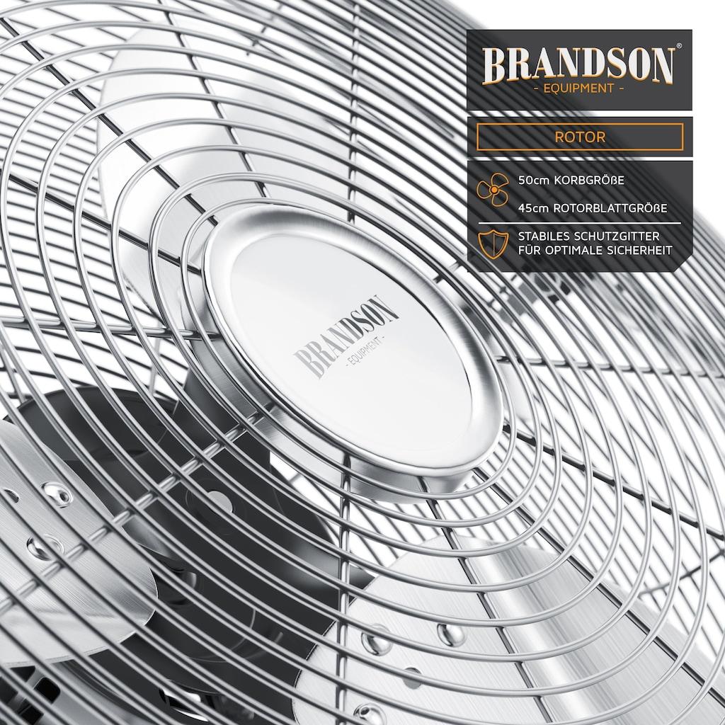 Brandson Metall Windmaschine mit neigbarerem Ventilator Kopf