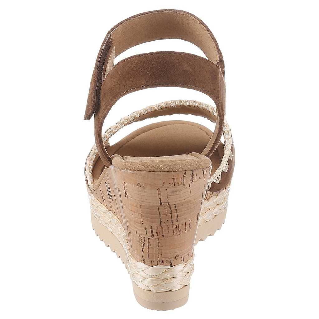 Gabor Sandalette, mit hübscher Stickerei