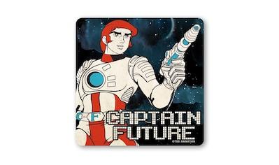 LOGOSHIRT Untersetzer mit Captain Future - Motiv kaufen