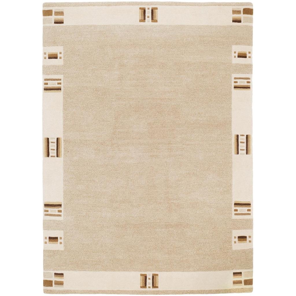 OCI DIE TEPPICHMARKE Wollteppich »Caprice Ramu«, rechteckig, 20 mm Höhe, reine Wolle, handgeknüpft, Wohnzimmer