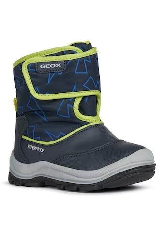 Geox Kids Winterstiefel »FLANFIL BOY«, mit coolem Muster kaufen