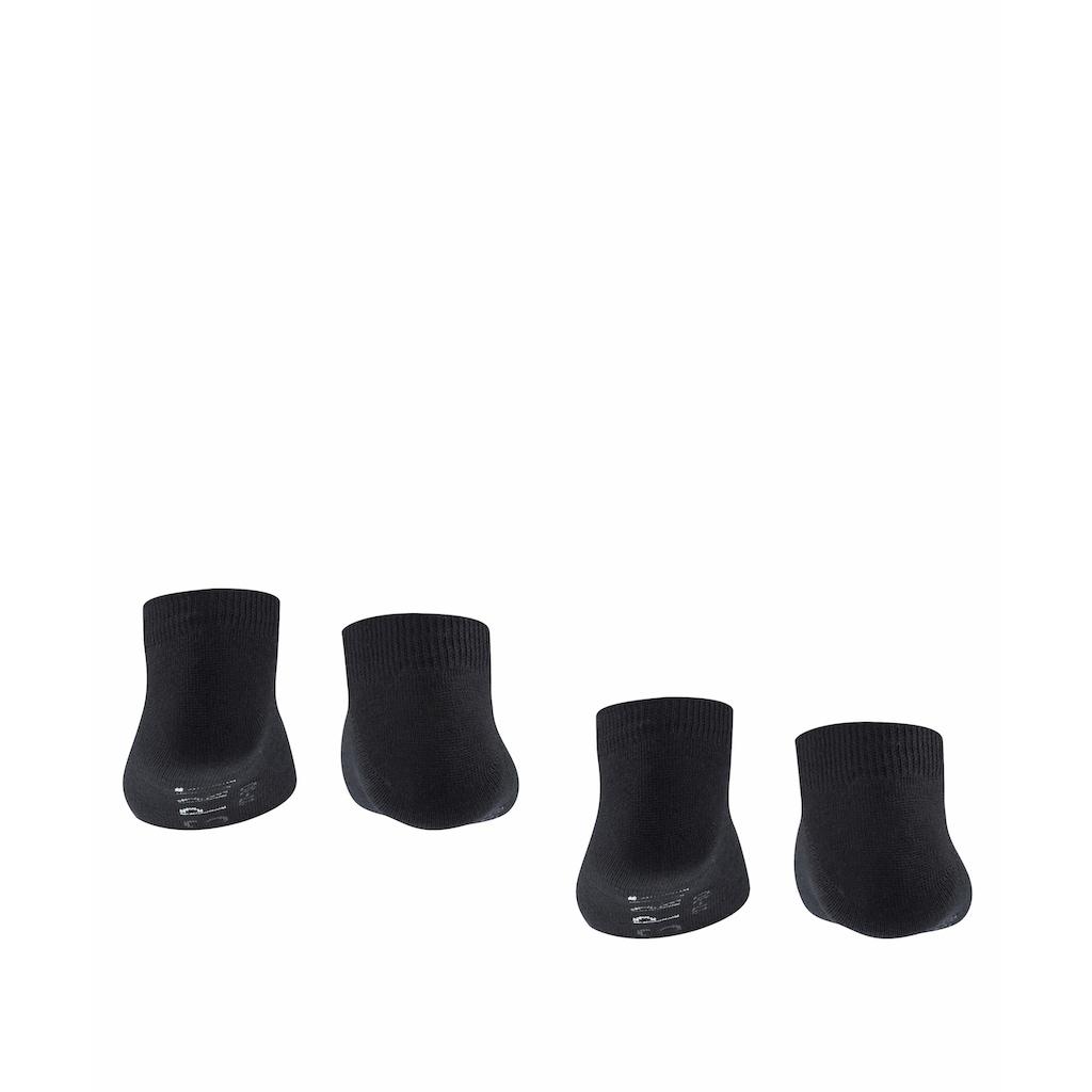 Esprit Sneakersocken »Foot Logo 2-Pack«, (2 Paar), aus weichem Baumwollmix
