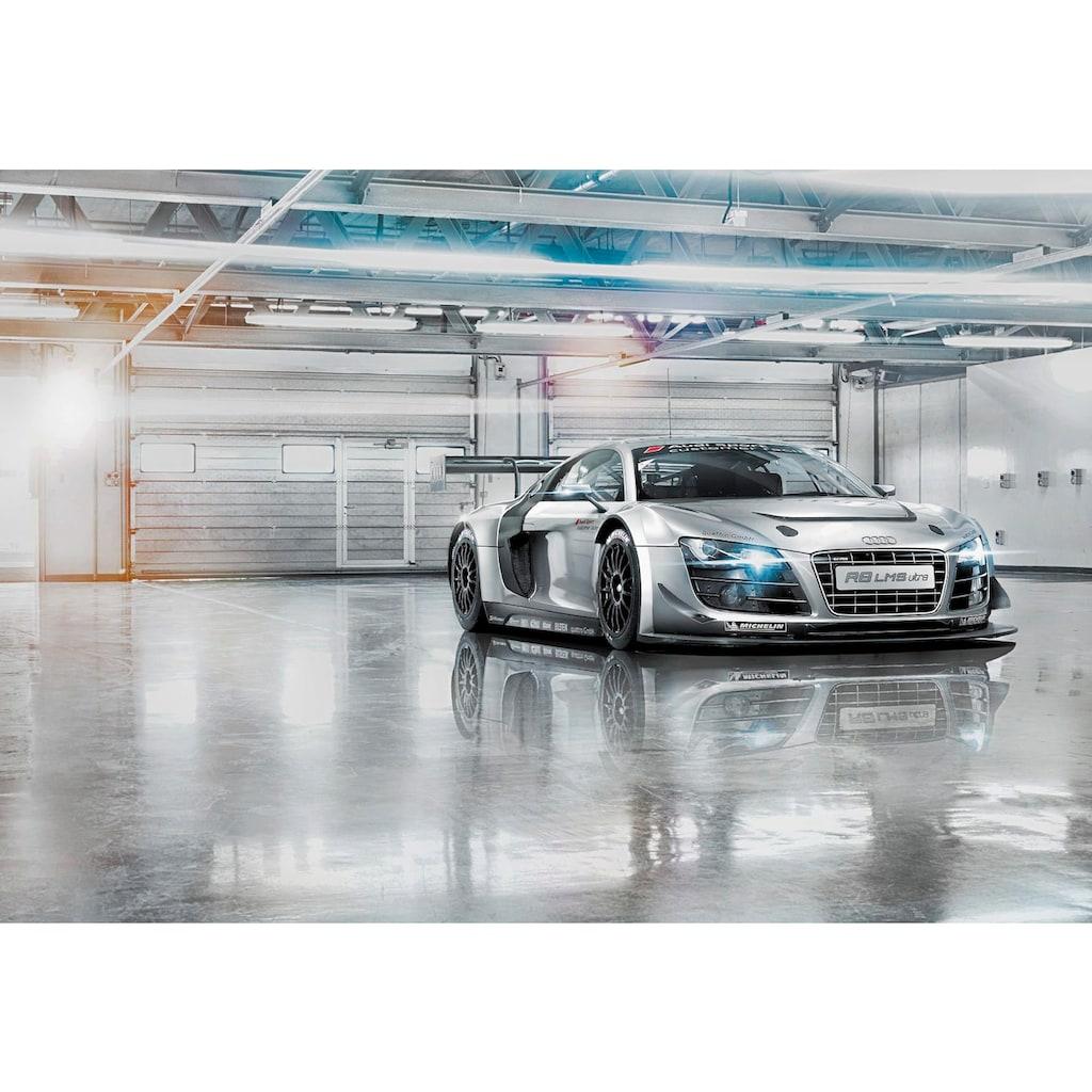 Komar Fototapete »Audi R8 Le Mans«, bedruckt-Wald-Meer, ausgezeichnet lichtbeständig