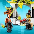LEGO® Konstruktionsspielsteine »Marktplatz (71708), LEGO® NINJAGO®«, (218 St.), Made in Europe