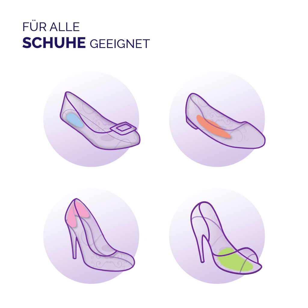 Scholl Fersenschutz »Party Feet Fersenschutz mit GelActiv Technologie«