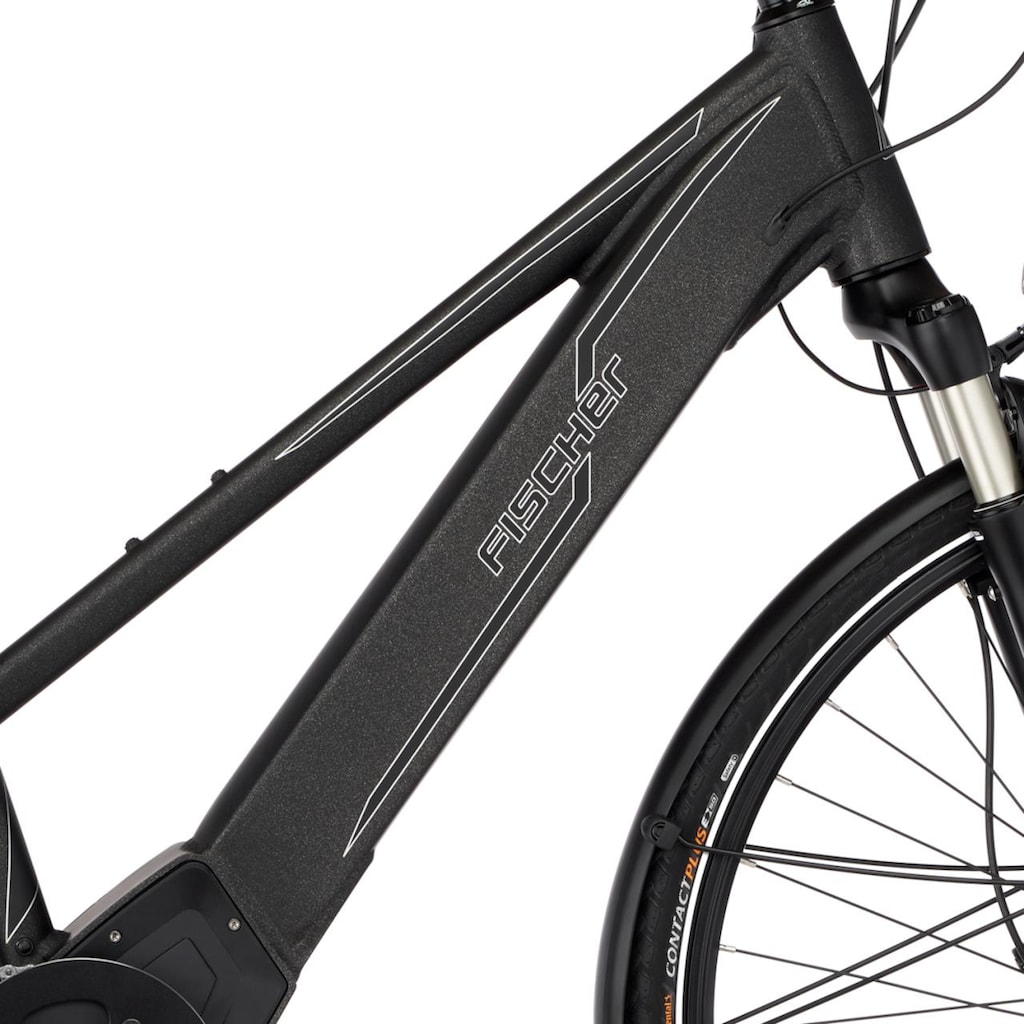 FISCHER Fahrräder E-Bike »VIATOR D 6.0i«, 10 Gang, SRAM, GX10, Mittelmotor 250 W