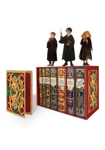 Buch Harry Potter: Band 1 - 7 im Schuber  -  mit exklusivem Extra! (Harry Potter ) / J.K. Rowling; Klaus Fritz kaufen