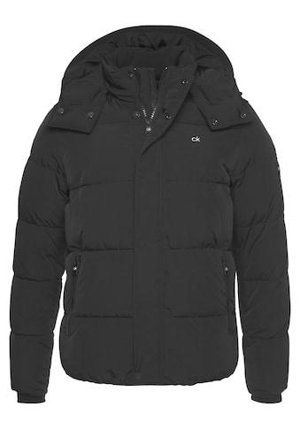 Calvin Klein Winterjacke »CRINKLE NYLON MID LENGTH JACKET« kaufen