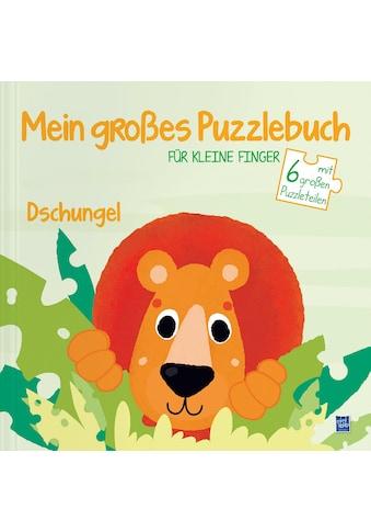Buch »Mein großes Puzzlebuch für kleine Finger - Dschungel / DIVERSE« kaufen