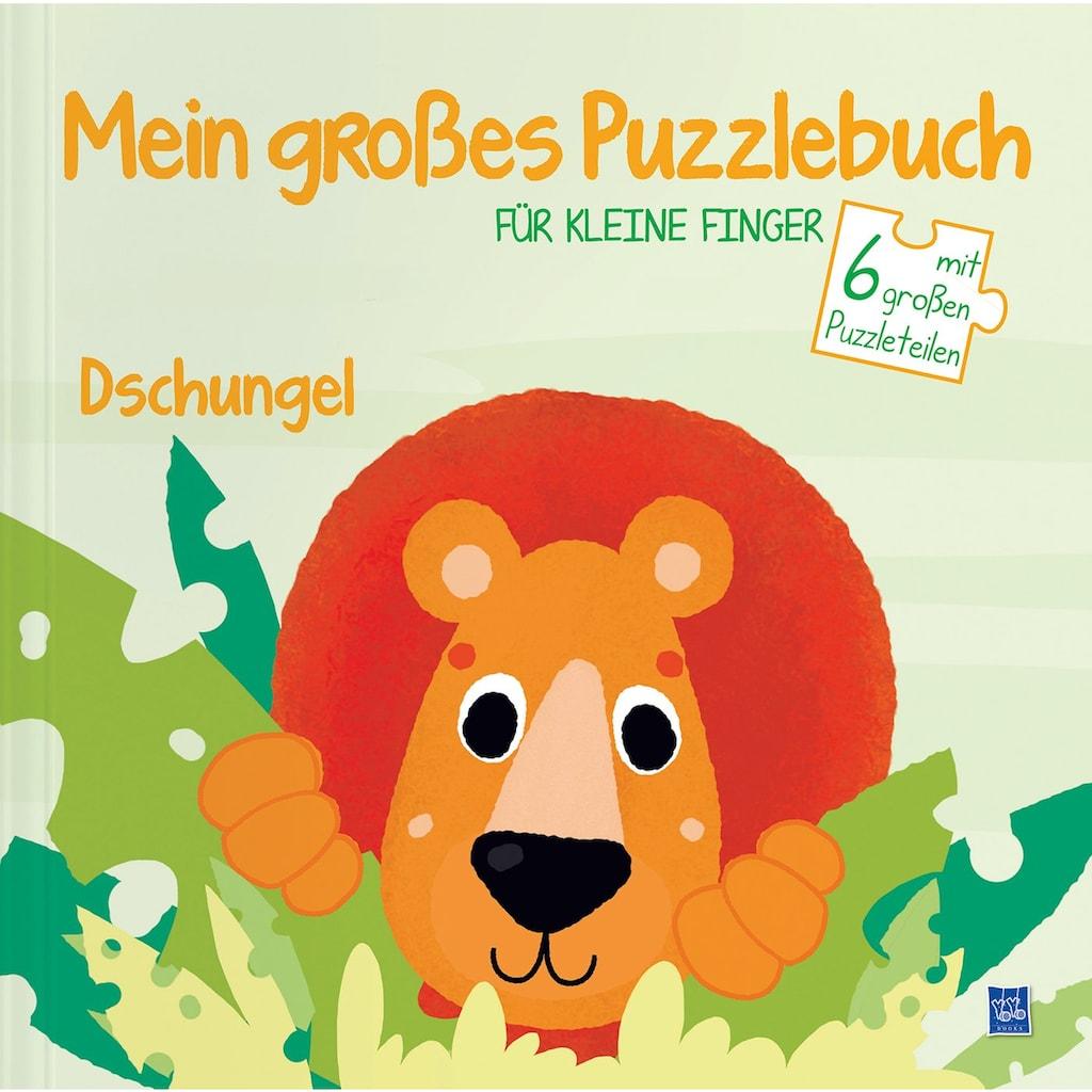 Buch »Mein großes Puzzlebuch für kleine Finger - Dschungel / DIVERSE«