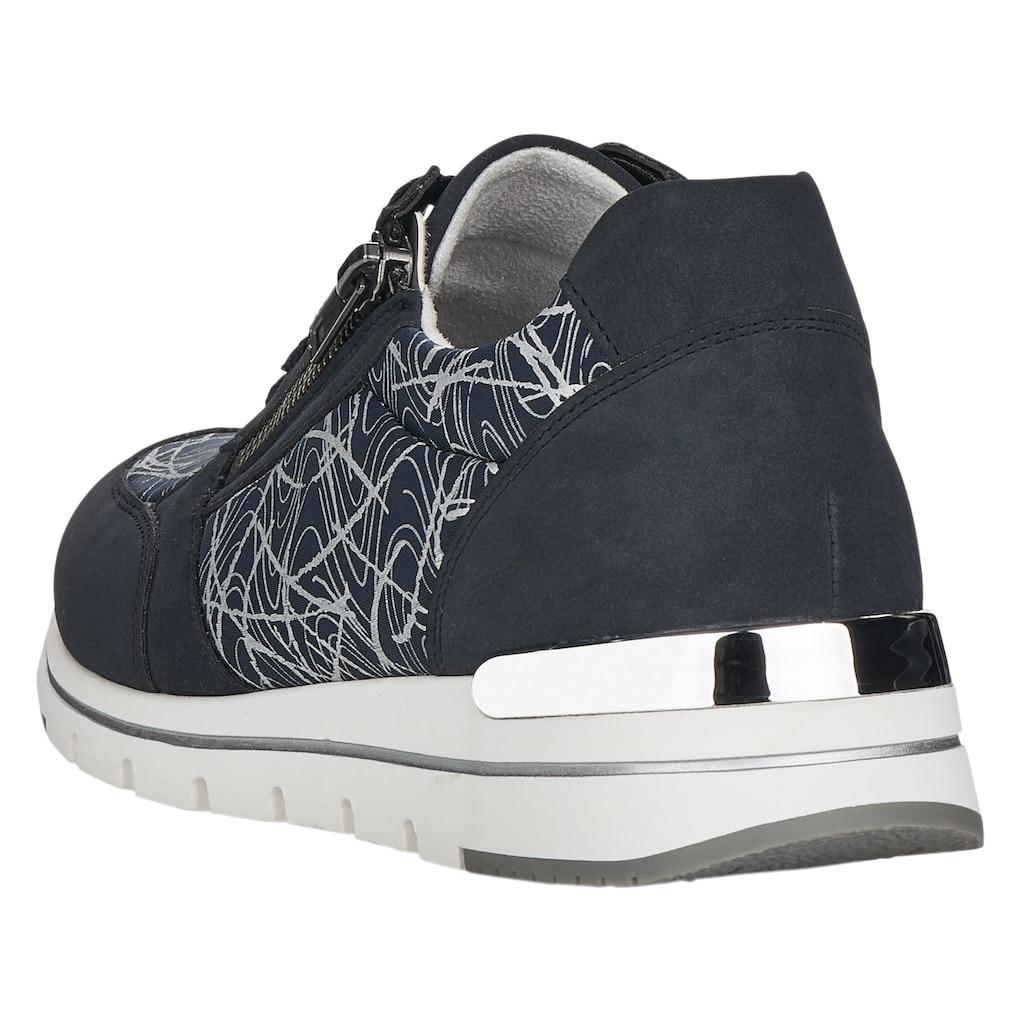 Remonte Sneaker, mit Fantasy-Print