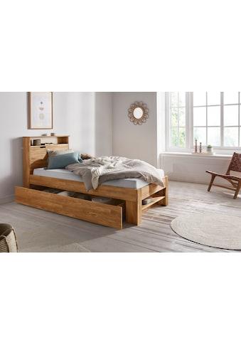 andas Einzelbett »Dalia«, (3 St.), aus massivem Eichenholz, in diversen Breiten,... kaufen