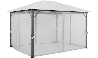 KONIFERA Seitenteile für Pavillon »Barbados«, BxL: 300x400 cm, 4 Moskitonetze kaufen