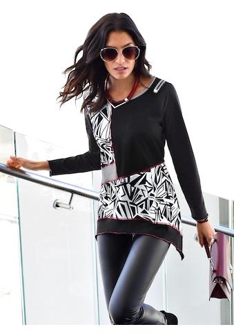 Classic Inspirationen Shirt in Patchwork - Optik kaufen