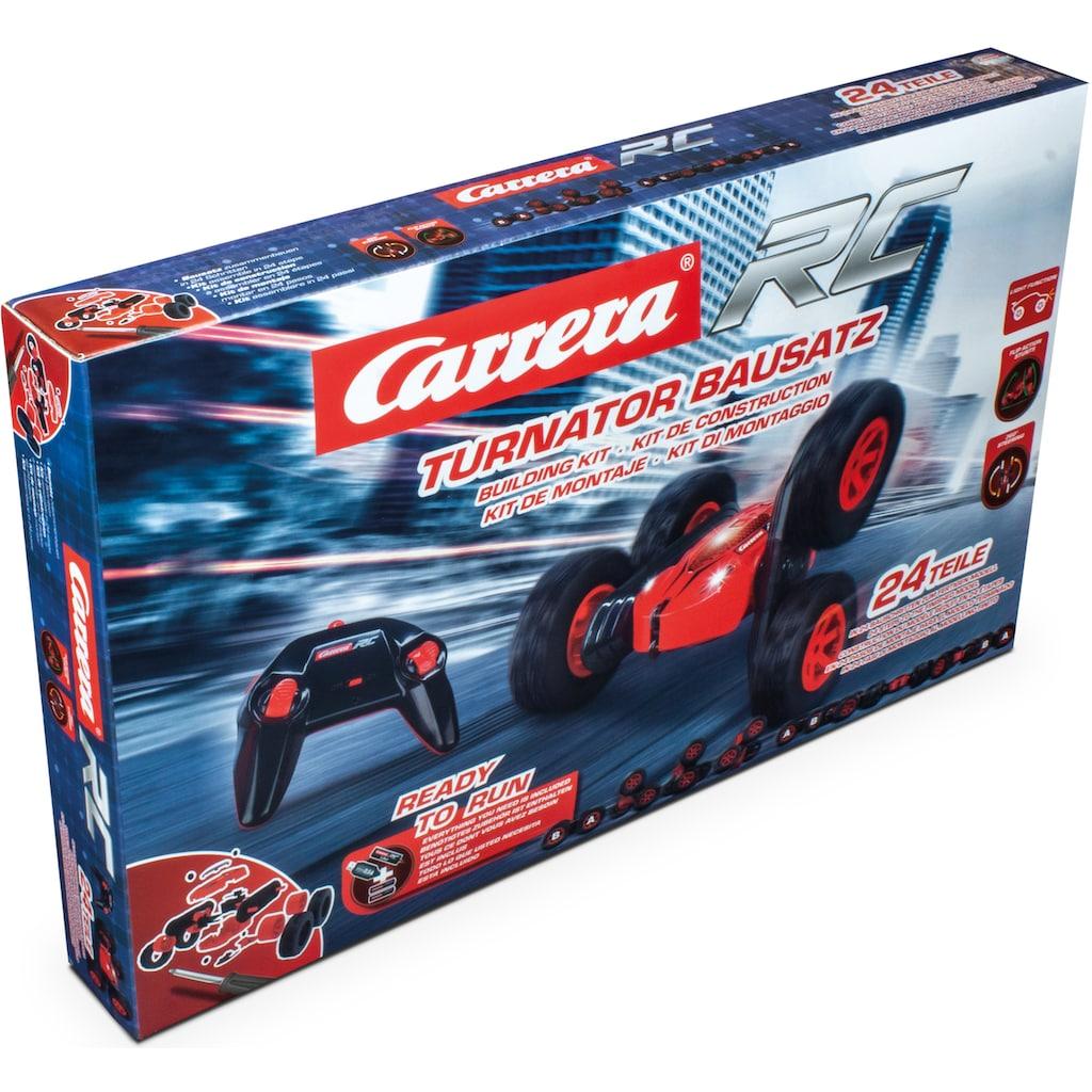 Carrera® RC-Buggy »Carrera® RC - Turnator Building Kit, 2,4 GHz«, mit LED Licht