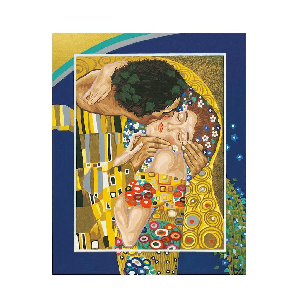 Schipper Malen nach Zahlen »Meisterklasse Premium - Der Kuss nach Gustav Klimt (1862 - 1918)«, Made in Germany