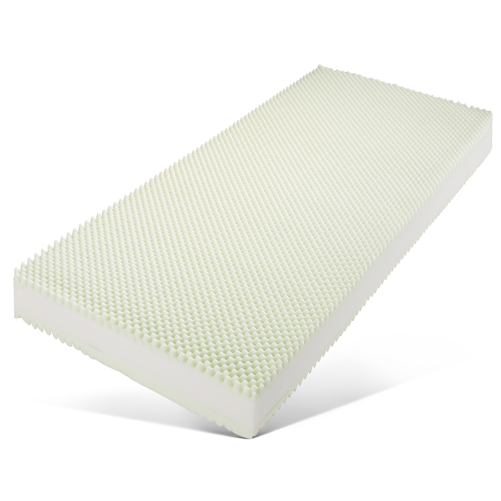 f.a.n. Schlafkomfort Taschenfederkernmatratze »ProVita Gold 28 T«, 28 cm cm hoch, 544 Federn, (1 St.), mit 5 cm hoher Noppen-Komfortschaumauflage