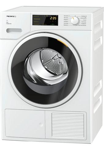Miele Wärmepumpentrockner »Miele Wärmepumpentrockner TWD360 WP 8kg T1 Lotosweiß« kaufen