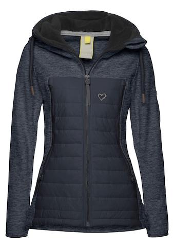 Alife & Kickin Outdoorjacke »CharliAK«, warme Kurzjacke im Materialmix - Polarfleece & Downlook kaufen