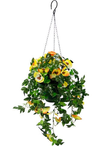 I.GE.A. Kunstpflanze »Stiefmütterchenhängeampel« kaufen