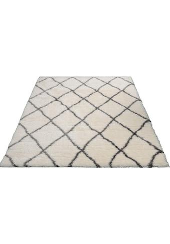 merinos Hochflor-Teppich »Floki 80075«, rechteckig, 70 mm Höhe, Besonders weich durch... kaufen