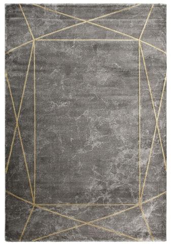 Leonique Teppich »Lucie«, rechteckig, 12 mm Höhe, moderne Marmor-Optik, Wohnzimmer kaufen